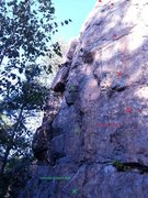 Rock Climbing Photo: My humble picture (another Beta version)