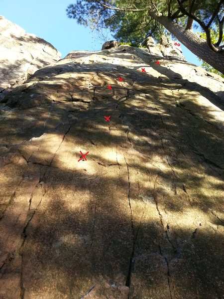 Rock Climbing Photo: This is THE classic of Rigaud