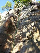Rock Climbing Photo: The Dihedral (another classic of Rigaud)