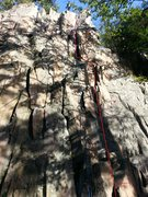 Rock Climbing Photo: I love this route, for those who like manthle and ...