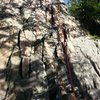 I love this route, for those who like manthle and layback