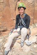 Rock Climbing Photo: Worth loosing a little blood