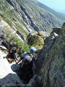 Rock Climbing Photo: Awesome view of the prominent Henderson Ridge as w...