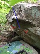 Rock Climbing Photo: The Line