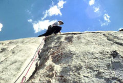 "Rock Climbing Photo: FA of ""Hidden Technology"" with stitched ..."