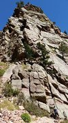 Rock Climbing Photo: Another shot of the Wind Tower with Breezy and Win...