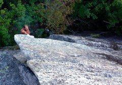 Rock Climbing Photo: Below the arête