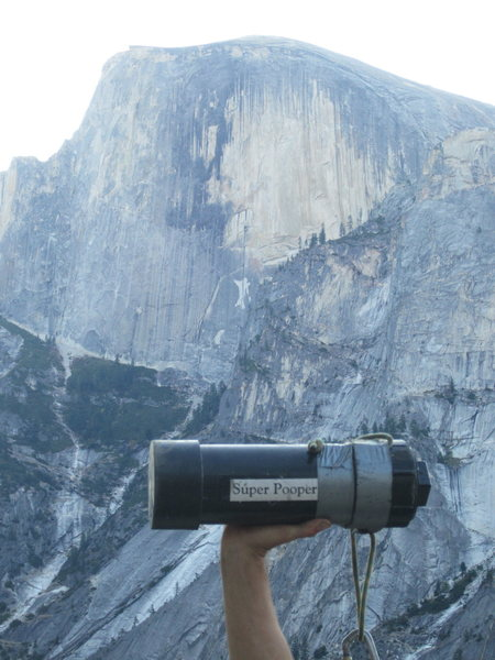 Rock Climbing Photo: Sooper pooper!