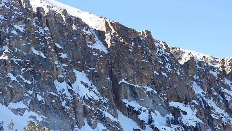 Rock Climbing Photo: the zone