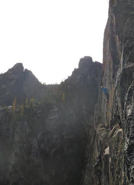 Rock Climbing Photo: Washington's answer to the Thank God Traverse.