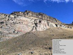 Rock Climbing Photo: Updated beta photo