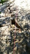Rock Climbing Photo: Second Shelf. A little spicy if your on trad gear,...