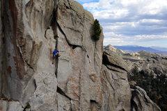 Rock Climbing Photo: Elliot on the Summit Scramble.