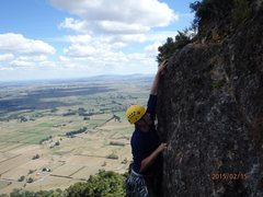 Rock Climbing Photo: Because Buck Rock is located part way up Mt Te Aro...