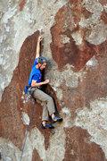 Rock Climbing Photo: Fun patina on Spot!