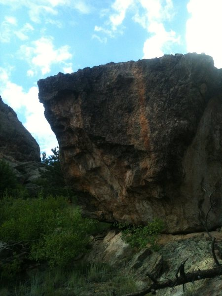 Hot Stepper Boulder.