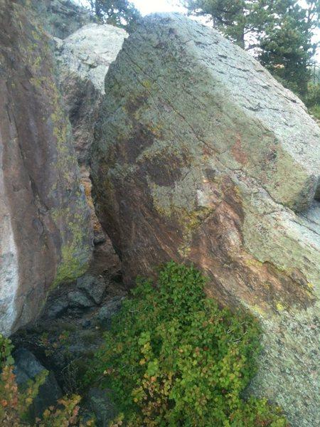 Warmup Boulder.