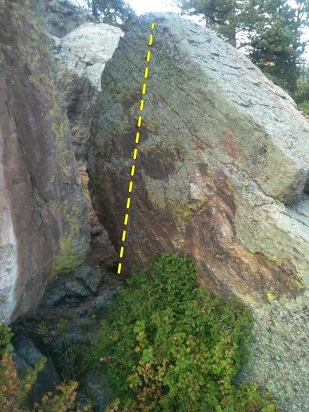 Rock Climbing Photo: Warmup Again.