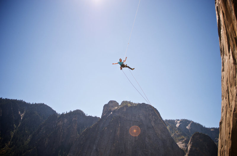 the swing at the base of El Cap