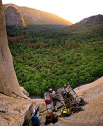 Rock Climbing Photo: Doing some camping on the road