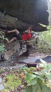 Rock Climbing Photo: Diamond in the Rough.