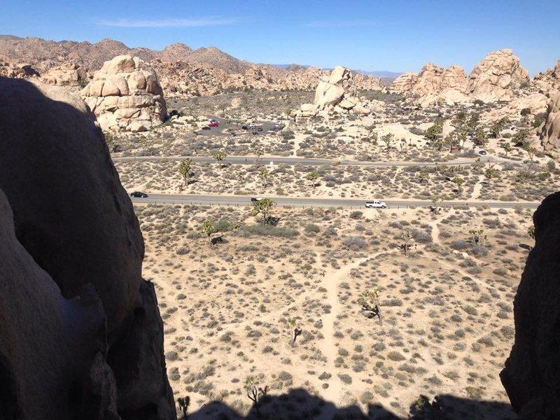 Joshua Tree Cyclops Rock