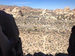 Rock Climbing Photo: Joshua Tree Cyclops Rock