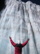 Rock Climbing Photo: Southern Icefield.  Damn! wish I brought my tools!
