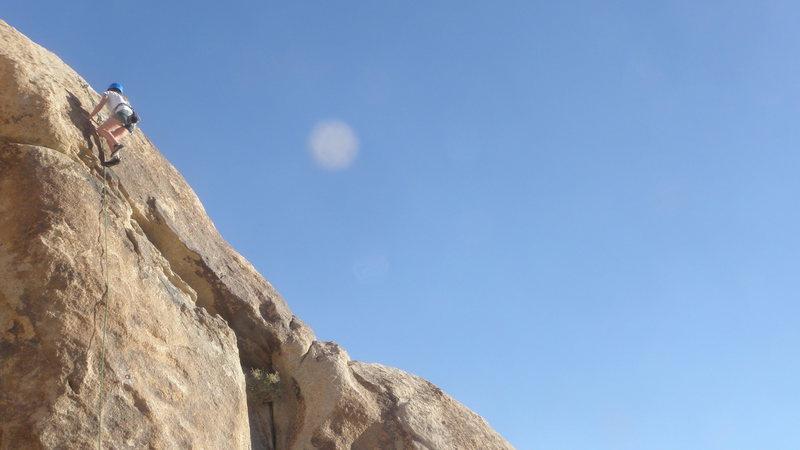 Rock Climbing Photo: C. F. on M.T.