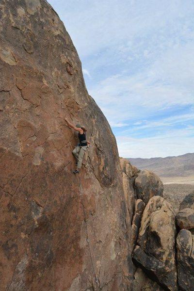 Rock Climbing Photo: Susan Peplow climbing Red Hulk.