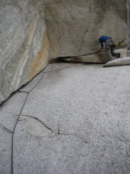 Rock Climbing Photo: In the beginning, there was undercling...and it wa...