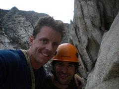 Rock Climbing Photo: Classic climb-Classic Partner!