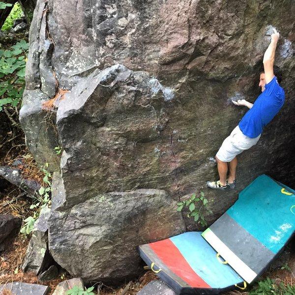 Rock Climbing Photo: Monorail
