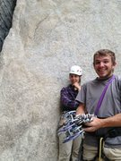 Rock Climbing Photo: stoked for pratt's crack!
