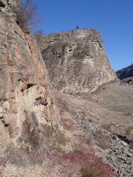 SE Buttress of the Main Canyon from the south end of the FZ Wall