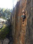 Rock Climbing Photo: last bolt to anchor
