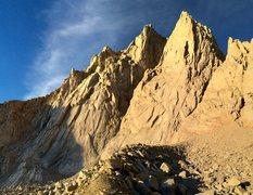 Rock Climbing Photo: Day Needle & Keeler Needle