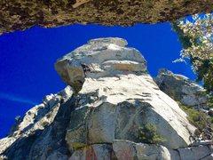 Rock Climbing Photo: Chris Norwood on Obelisk Direct, 5.11+ 2015!!!!