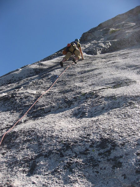 Rock Climbing Photo: Vlada Matena on the short 5.8 section at the start...