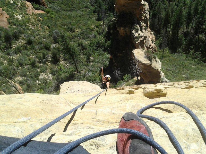 Rock Climbing Photo: lindsey western styling p2