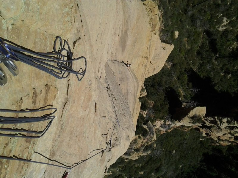 p3: easy climbing up a dike to some rad face holds (think winslow wall)