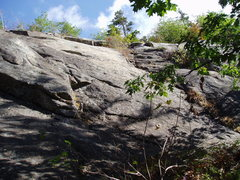 """Rock Climbing Photo: Looking at P1 of """"DWH"""""""