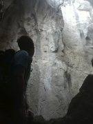 "Rock Climbing Photo: inside ""la grotta"""