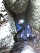 Rock Climbing Photo: the cave entrance and exit - bring a headlamp!!