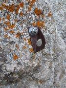 Rock Climbing Photo: A homemade bolt