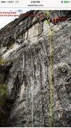Rock Climbing Photo: Retro bolts