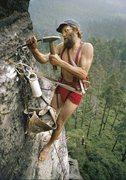 Rock Climbing Photo: Not me But cool picture