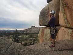 Rock Climbing Photo: The rocks at Vedauwoo are surreal...and sharp.