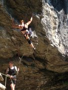 Rock Climbing Photo: Start of Lions, Tigers and Bears. Thanks to D. Has...
