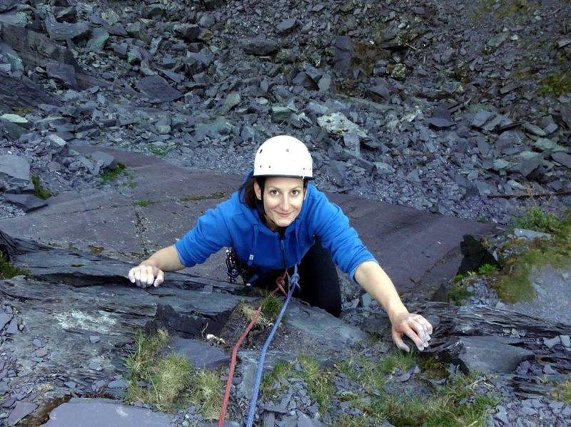 Rock Climbing Photo: llanberis slate quarry, wales